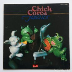 Discos de vinilo: CHICK COREA ‎– FRIENDS JAPAN,1978 POLYDOR. Lote 231515585