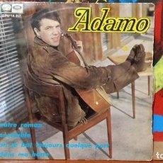 Discos de vinilo: ** ADAMO - NOTRE ROMAN + 3 - EP AÑO 1967 - LEER DESCRIPCIÓN. Lote 231524615