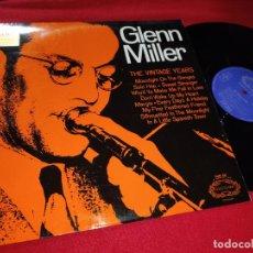 Discos de vinilo: GLENN MILLER THE VINTAGE YEARS LP HALLMARK EDICION INGLESA ENGLAND UK. Lote 231540345