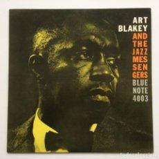 Discos de vinilo: ART BLAKEY AND THE JAZZ MESSENGERS – MOANIN' JAPAN,1977 BLUE NOTE. Lote 231549885
