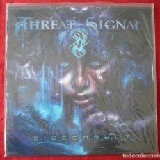 Discos de vinilo: THREAT SIGNAL - DISCONNECT. LP VINILO. NUEVO. PRECINTADO.. Lote 231559465