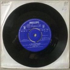 Discos de vinilo: DORIS DAY. TEACHER'S PET/ A VERY PRECIOUS LOVE. PHILIPS, UK 1958 SINGLE BSO. Lote 231561745