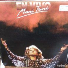 Disques de vinyle: DISCO VINILO MARI TRINI EN VIVO. DOBLE L. P. BUEN ESTADO. DISC-49. Lote 231600785
