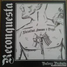 Discos de vinilo: RECONQUESTA - VALORS PERDUTS - VINILO LP. Lote 231607440