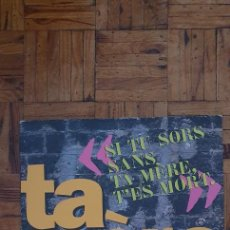 """Discos de vinilo: TA MÈRE – SI TU SORS SANS TA MÈRE, T'ES MORT LABEL: WEA – 0630-11354-0 FORMAT: VINYL, 12"""", 33 ⅓ RP. Lote 231613245"""