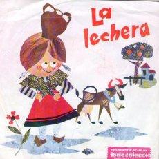 Discos de vinilo: ARSENIO CORSELLAS – LA LECHERA (CUENTO INFANTIL)- SINGLE, DISCO OBSEQUIO STARLUX 1967. Lote 231618325