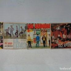 Discos de vinilo: ¡¡ SINGLES : LOS BRAVOS, LOS BRINCOS, LOS DIAPASONS Y ROD STEWART. !!. Lote 231630875
