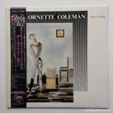 Discos de vinilo: ORNETTE COLEMAN – OF HUMAN FEELINGS JAPAN,1982 ANTILLES. Lote 231662445