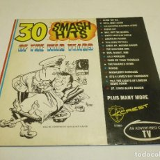 Disques de vinyle: 30 SMASH HITS OF THE WAR YEARS SELLO: CREST RECORD CO – WAR 39 / 45. Lote 231669370