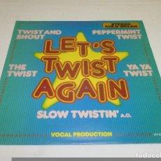 Disques de vinyle: LETS TWIST AGAIN SELLO: STEREO GOLD AWARD – MER 416. Lote 231670680