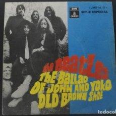 Discos de vinilo: THE BEATLES. THE BALLAD OF JOHN AND YOKO. ODEON J-006-04.108 M. ESPAÑA 1969 SINGLE. Lote 231671945