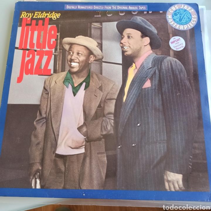 ROY ELDRIDGE - LITTLE JAZZ (CBS - CBS 465684 1, EUROPE, 1989) (Música - Discos - LP Vinilo - Jazz, Jazz-Rock, Blues y R&B)