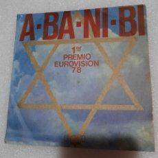 Disques de vinyle: M. LEVANTE, KAMEL OÍL COMPANY BAND - A-BA-NI-BI / FLOR DE TRIGO. Lote 231687140