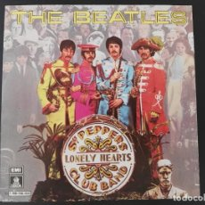 Disques de vinyle: THE BEATLES SERGEANT PEPPERS LONELY HEARTS CLUB BAND 1978 C 006-006.804 SINGLE SIN ESTRENAR. Lote 231701635