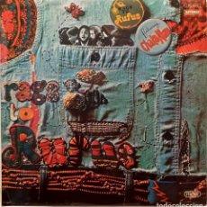 Disques de vinyle: RUFUS FEATURING CHAKA KHAN – RAGS TO RUFUS. Lote 231703975