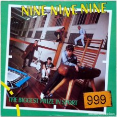 Discos de vinilo: 999 ‎- THE BIGGEST PRIZE IN SPORT - LP GERMANY 1980 - ALBION RECORDS / ARIOLA ‎‎201 331. Lote 231707565