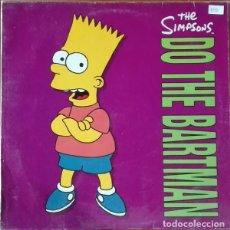 Discos de vinilo: THE SIMPSONS – DO THE BARTMAN - MAXI-SINGLE GERMANY 1990. Lote 231710695