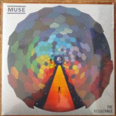 Discos de vinilo: MUSE - THE RESISTANCE (LP2) PRECINTADO!!!!!. Lote 231722285
