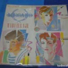 Discos de vinilo: EXPRO MAXISINGLE MECANO MAQUILLAJE 1982 ESTADO ACEPTABLE. Lote 231725515