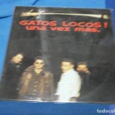 Discos de vinilo: EXPRO LP GATOS LOCOS UNA VEZ MAS VINILO CON USO EVIDENTE AUNQUE LEVE. Lote 231732060
