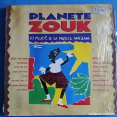 Discos de vinilo: PLANETE ZOUK - LO MEJOR DE LA MUSICA ANTILLANA (2XLP, ALBUM) (1992/ES). Lote 231736385