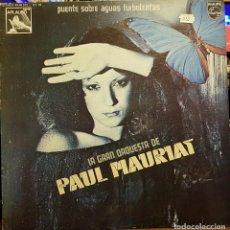Disques de vinyle: PAUL MAURIAT - PUENTE SOBRE AGUAS TURBULENTAS. Lote 231738010
