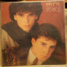 Discos de vinilo: PECOS 20 AÑOS. Lote 231751005