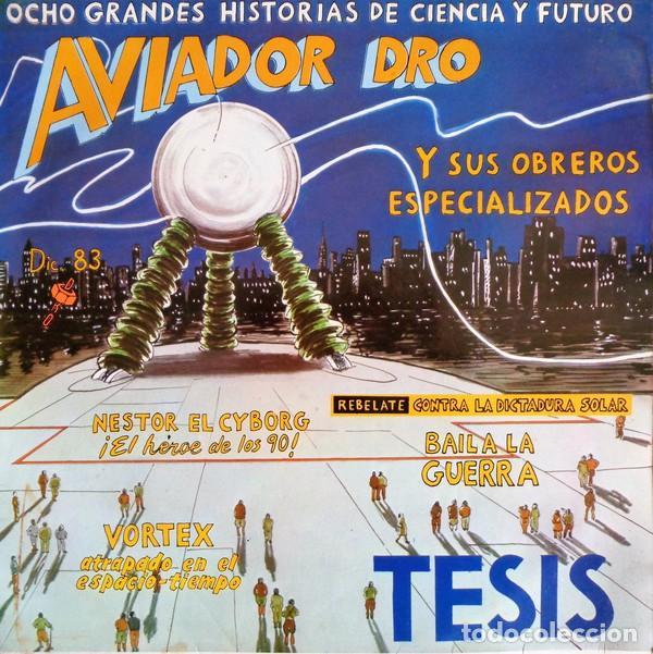 AVIADOR DRO TESIS (Música - Discos - LP Vinilo - Electrónica, Avantgarde y Experimental)