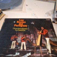 Discos de vinilo: BAL-5 DISCO GRANDE 12 PULGADAS MUSICA LOS REALES DEL PARAGUAY GUANTANAMERA LA BAMBA. Lote 231759395