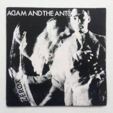 Discos de vinilo: ADAM AND THE ANTS ‎– ZEROX / WHIP IN MY VALISE UK,1981. Lote 231759810
