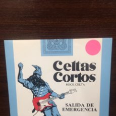 Disques de vinyle: CELTAS CORTOS. SINGLE. SALIDA EMERGENCIA.. Lote 231760605