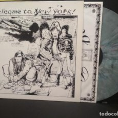 Discos de vinilo: THE ROLLING STONES LP MULTICOLOR WELCOME TO NEW YORK 1989 PIG RECORDS EEC PEPETO. Lote 231762890