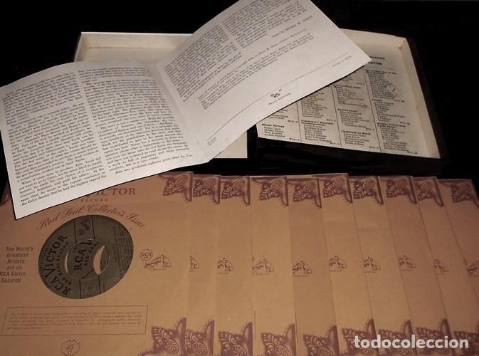 Discos de vinilo: IDEAL COLECCIONISTAS. VERDI. AIDA. COMPLETA [2 CAJAS+ESTUCHE CONTENEDOR+20 DISCOS SINGLES+LIBRETOS]. - Foto 6 - 231763035