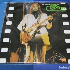 Discos de vinilo: EXPRO LP ESPAÑOL LO MEJOR DE ERIC CLAPTON MUY BUEN ESTADO GENERAL. Lote 231773665