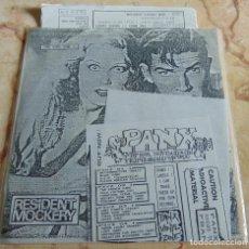 Discos de vinilo: VARIOS – PANX VINYL ZINE 02 - EP 6 TEMAS + FANZINE. Lote 231807180