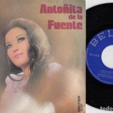 Discos de vinilo: ANTOÑITA DE LA FUENTE - TORTURA DE CELOS / QUE NO QUE NO - SINGLE DE VINILO - RUMBAS. Lote 231816525