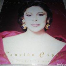 Disques de vinyle: ISABEL PANTOJA-LA CANCION ESPAÑOLA-DOBLE LP. Lote 231835355