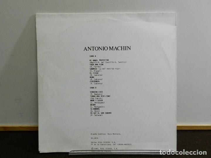 Discos de vinilo: DISCO VINILO LP. Antonio Machín – Toda Una Vida. 33 RPM - Foto 2 - 231841080