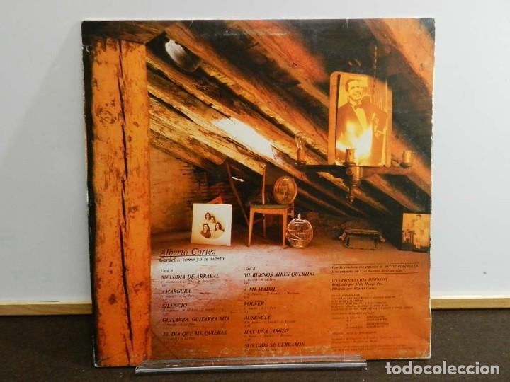 Discos de vinilo: DISCO VINILO LP. Alberto Cortez – Gardel... Como Yo Te Siento. 33 RPM - Foto 2 - 231847665