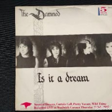 Discos de vinilo: THE DAMNED - IS IT A DREAM. Lote 231898230
