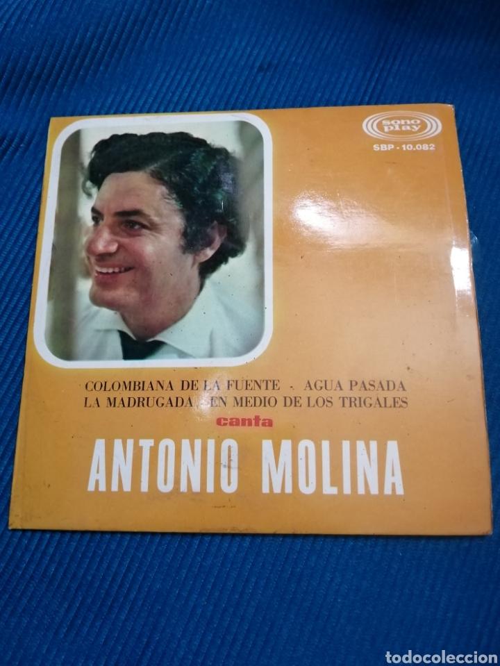 VINILO ANTONIO MOLINA, 1967, SONOPLAY SPB10082 (Música - Discos - Singles Vinilo - Flamenco, Canción española y Cuplé)