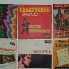 Discos de vinilo: LOTE 6 SINGLES - COLUMBIA.-. Lote 231919150