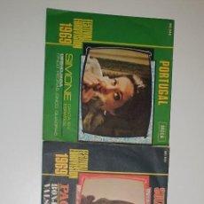 Disques de vinyle: LOTE 3 SINGLES - DECCA . COLUMBIA.- EUROVISION 1969,1969 Y 1974. Lote 231919855