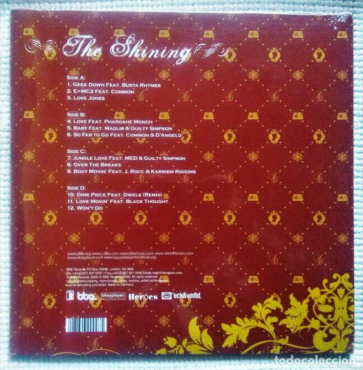 Discos de vinilo: J DILLA - THE SHINING 2 LP 2006 EU SEALED - Foto 2 - 34089800
