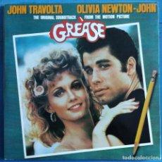 Discos de vinilo: GREASE (THE ORIGINAL SOUNDTRACK FROM THE MOTION PICTURE) (2XLP, ALBUM, GAT) (1978/ES). Lote 231934595
