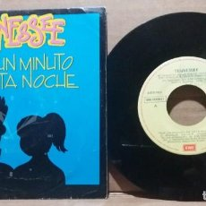 Disques de vinyle: TENNESSEE / POR UN MINUTO DE ESTA NOCHE / SINGLE 7 INCH. Lote 231940680