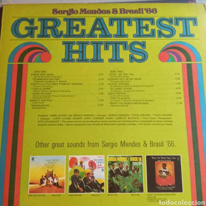Discos de vinilo: Sergio Mendes & Brasil 66 - Greatest Hits (A&M Records - AMLS 985, Europe, 1970) - Foto 2 - 231942780