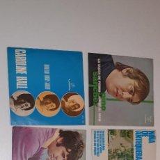 Discos de vinilo: LOTE 6 SINGLE SOLISTAS. COLUMBIA AÑOS 60 Y 70. Lote 231946540
