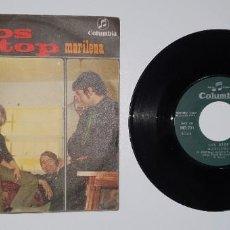 Discos de vinilo: SINGLE LOS STOP COLUMBIA 1969. Lote 231962665