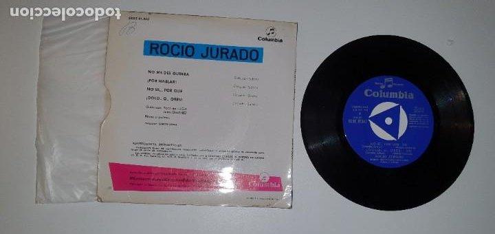 Discos de vinilo: SINGLE ROCIO JURADO - COLUMBIA 1968 - Foto 2 - 231966865